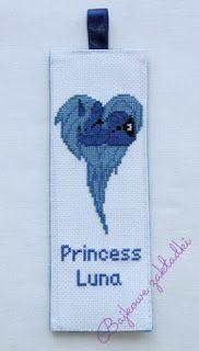 Zakładka do książki Księżniczka Luna Princess Luna bookmark