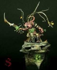 golden+demon | ... - Skaven Warlord - Golden Demon Spain 2011 Entry by Surfneil