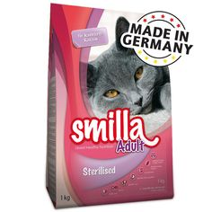Animalerie  Smilla Adult Sterilised pour chat  10 kg