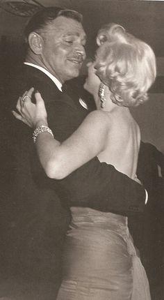 Clark Gable & Marilyn Monroe