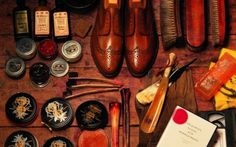 Every man needs a proper shoe polishing kit ...... agreed .....