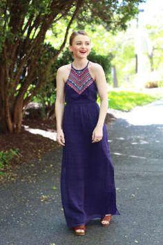 Poor Little It Girl - American Eagle Outfitters Springtime Dresses - via @poorlilitgirl