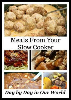 Easy to make and quite delicious... Crock-Pot Swedish Meatballs. These are great as a party appetizer or served over egg noodles for dinner.