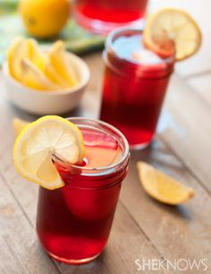 Copycat passion iced tea lemonade. Vodka?!