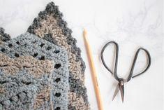 Four Chevron Crochet Swatches