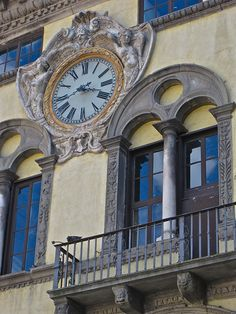 Clock, Lucca, province of Lucca, Tuscany region Italy