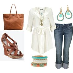 Casual Saturday, created by alanad23 on Polyvore