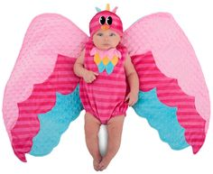 Infant Sweet Owl Wing Swaddle Costume from CostumeExpress.com