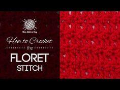 Crochet the Floret Stitch