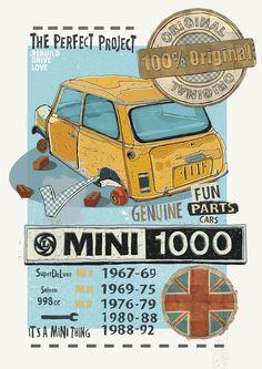 Mini 1000. by Aaron Vayro, via Behance