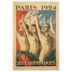 Olympic Posters - snapshots through time: Paris 1924.