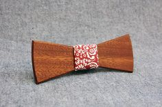Wooden Bow Tie PENGUIN™/ ELEGANT by PenguinBowTie on Etsy