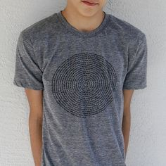 Bestseller : Mens t shirt, Animal Collective Nouns Mens t-shirt in Gray or Blue, american apparel track tee, gift for him on Etsy, R$57,55