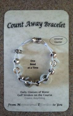 Golf Course Handicap Lowering Counting Bracelet Womens by DoLife
