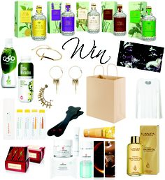 Win one of 10 Deluxe La Vie Fleurit Holiday Goody-Bags. Including; Aqua Colonia, Dr. van der Hoog, L'anza, Sweetshirts, Club Manhattan, Infinity Sun, Manu Antiques, Tea Forte. Lady's Secret, Coco Juice, Little Miracle. Full of Fashion, Beauty, Lifestyle, Luxury, Jewerly, Accessories, Food & Beverages! Go to http://laviefleurit.blogspot.be/2012/11/Holiday-Give-Away.html and found out more!