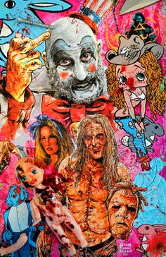 87 Best Rob Zombie Art Images Rob Zombie Rob Zombie Art Zombie Art