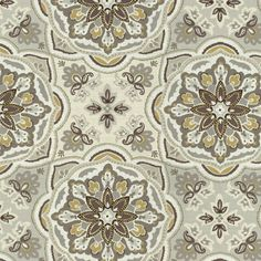 Home Decor Print Fabric- Waverly Tapestry Tile Shale