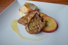 Fotorecept: Kačacia pečeň s jablkami