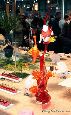 Sugar showpiece - IKA Culinary Olympics '08 - The Chicago School of Mold Making