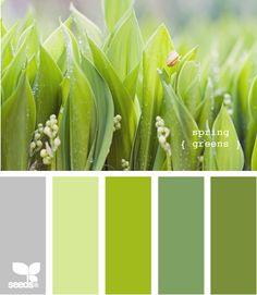 Spring Greens Palette