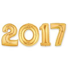 Image result for 2017 pink number balloons