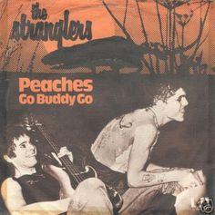 "The Stranglers - Peaches [1977, UA 5C 006-99142 │Netherlands] - 7""/45 vinyl record"