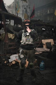 Stunning Portraits Of The Ukraines Maidan Protesters