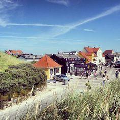 Nice view of Løkken seen from the beach. Musik og Dans : http://www.peterbaadsmand.dk/