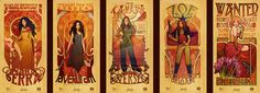 Art Nouveau meets Firefly.   REALLY?!  <3 <3