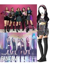 Kpop Fashion Outfits, Stage Outfits, Dance Outfits, Girl Outfits, Boom Music, Iphone Wallpaper Tumblr Aesthetic, Clothing Sets, Polyvore Outfits, Outfit Sets