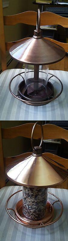 Seed Feeders 42350: Good Directions Classic Perch Bird Feeder - Venetian Bronze -> BUY IT NOW ONLY: $50 on eBay!
