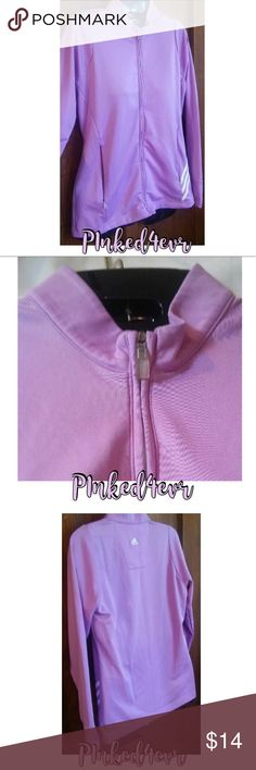 Adidas ClimaTemp Lilac Full Zip Jacket Small Adidas ClimaTemp Lilac Full Zip Jacket Small. Super cute and no flaws. Beautiful lilac color closest to 2nd pic. Would fit an XS also, depending on how you like the fit. Open to offers and trades adidas Tops Sweatshirts & Hoodies
