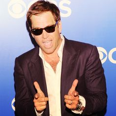 Oh Boy ! Michael Weatherly, So Charming Ncis Jenny, Ncis Tv Series, Michael Weatherly, My Crush, Crushes, Tv Shows, Mens Sunglasses, Actors, Sexy