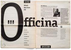 Officina Sans by Erik Spiekermann.