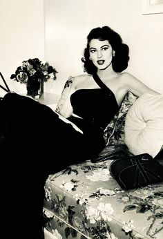Ava Gardner (1949). Classic Hollywood. I think so was one of the most beautiful women to have ever lived.