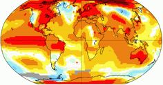 The Globe's Hottest Year Just Keeps Getting Hotter