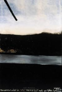 Tomorrow Will Be The Same -lg by Colin McCahon at Image Vault - prints New Zealand Art, Nz Art, Creative Background, Black And White Painting, Abstract Landscape, Love Art, Glasgow, Travel Photos, Life Is Good