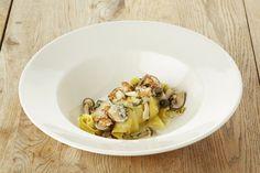 Recepten - Pasta met seizoenschampignons