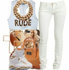 My style love the shirt rude