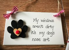 A personal favourite from my Etsy shop https://www.etsy.com/uk/listing/553154288/dog-plaque-handcrafted-wooden-sign-pet