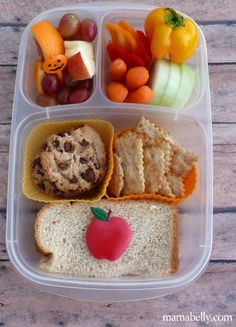 teen boy's lunch - mamabelly lunches with love