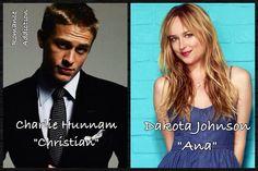 Fifty Shades Of Grey Casting Charlie Hunnam and Dakota Johnson