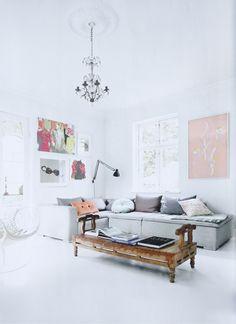 artwork & lamp