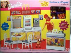 Barbie - McDonald's Fun Time Restaurant Playset - 2001