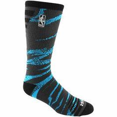 NBA 2013 All-Star Camo Bright Crew Socks - Royal Blue/Black
