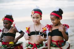 PNG flower girls, Palm Cove | Zen Photography | Cairns Wedding and Portrait Photography - 2/19 - Documentary wedding and portrait photography | Cairns, Australia
