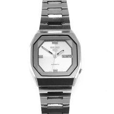 Seiko 5 Vintage Automatic Men's Watch Space Age Design 6309A #vbantiquejewelry