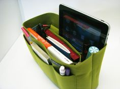 fabulous bag organization that you can move from purse to purse - beautifully made.