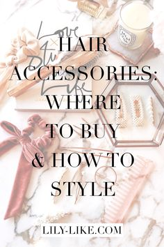 I've been obsessed with hair accessories lately. In this post, will be sharing my hair accessories collection, ánd how I styled them in order to look chic! Scarf Hairstyles, Twist Hairstyles, Pretty Hairstyles, Gold Hair Clips, Best Wings, Gold Hair Accessories, French Hair, Hair Again, Velvet Hair