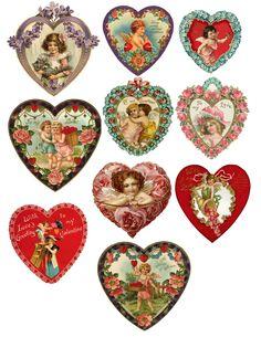 Valentine Hearts (JPG)